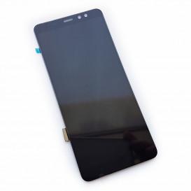 Дисплей Samsung A7200, A720 Galaxy A7 Duos, 720F/DS Galaxy A7 (2017) с тачскрином, черный (Оригинал)