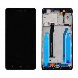 Дисплей Xiaomi Redmi 3, Redmi 3S, Redmi 3S Prime, Redmi 3X с тачскрином и рамкой, черный