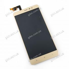 Дисплей Xiaomi Redmi Note 3 Pro SE с тачскрином, золотистый (148.5mm)