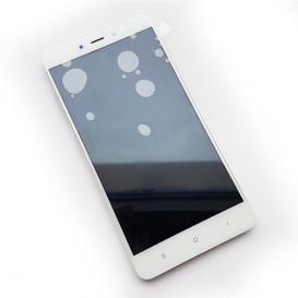 Дисплей Xiaomi Redmi Note 4 с тачскрином и рамкой, белый