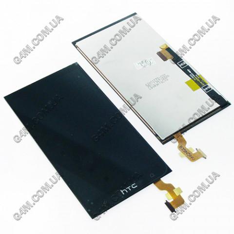 Дисплей HTC One mini 601n с тачскрином, черный (Оригинал)