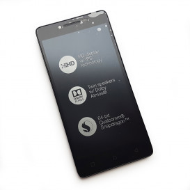 Дисплей Lenovo A6010 с тачскрином и рамкой, черный (Оригинал China)