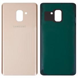 Задняя крышка для Samsung A730F, A730F/DS Galaxy A8 Plus (2018 года) золотистая