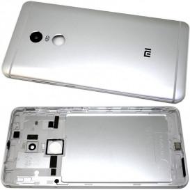 Задняя крышка для Xiaomi Redmi Note 4 серебристая