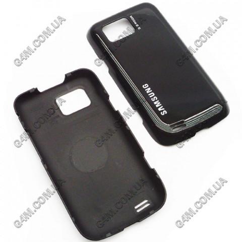 Задняя крышка для Samsung S5600 черная (High Copy)