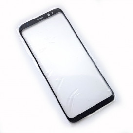 Стекло сенсорного экрана для Samsung G950 Galaxy S8 черное