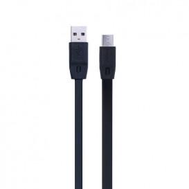 USB дата-кабель Remax Full Speed RC-001m microUSB черный 1m