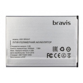 Аккумулятор для Bravis Bright A501