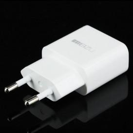 Сетевое зарядное устройство Meizu + cable MicroUSB 2A (белого цвета)