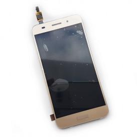 Дисплей Huawei Y3 2017 года, (CRO-U00) с тачскрином, золотистый