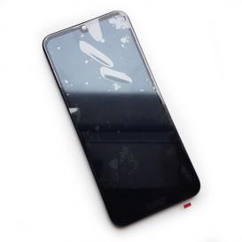 Дисплей Huawei Honor 8a с тачскрином и рамкой, черный (Оригинал)