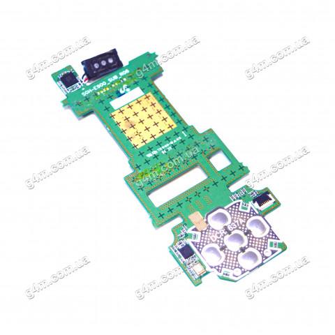 Дисплейная плата Samsung E900 с компонентами и верхней подложкой