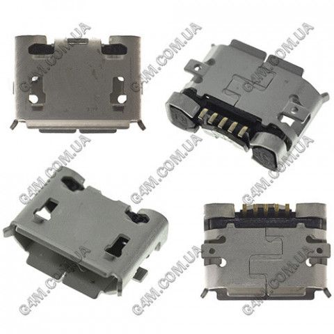 Коннектор зарядки Nokia 8600, 6500c, 7900, 8800 Arte, USB для E66, E71, N81, N82, N85, N86; Sony Ericsson X10 mini, W100