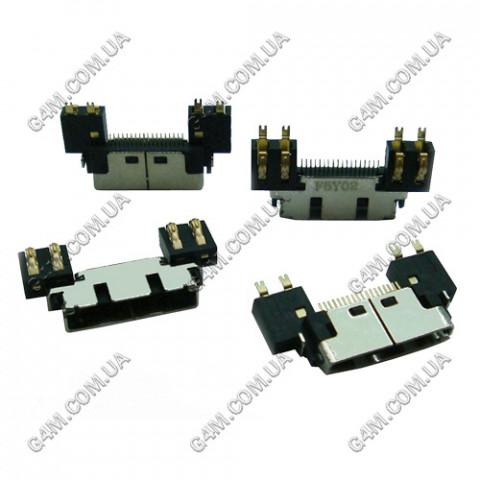 Коннектор зарядки Samsung A800, C100, C110, D100, D410, E100, E300, Е400, P400, P510, S200, S300, S500, T100, T400, V200, X120, X400, X450