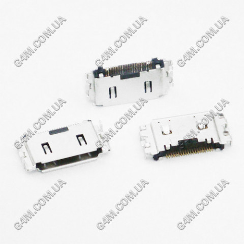 Коннектор зарядки Samsung i400, i740, S3600, C180, F270, F278, L700, S3030, S3500, S3650, S8030
