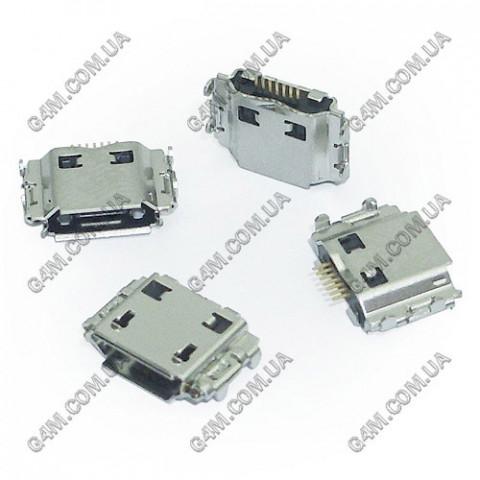 Коннектор зарядки Samsung B3210, B3310, B5310, B6520, B7320, B7330, B7350, B7610, B7620, B7722i, B7722, C3300, C5510, C3530, C6625, E2370, i5500, i5700, i5800, i717, i7500, i8000, i9220, M2310, M3310, M3710, M5650, M6710, M7500, M7600
