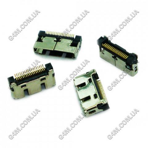 Коннектор зарядки Samsung X100, X150, X160, X200, X210, X300, X500, X520, X540, X600, X620, X630, X640, X680, X700, E370, E700, E710, E770, E860, N400, Q200, P900, T500, C120, C130, C200, C210, C230, C300, D500