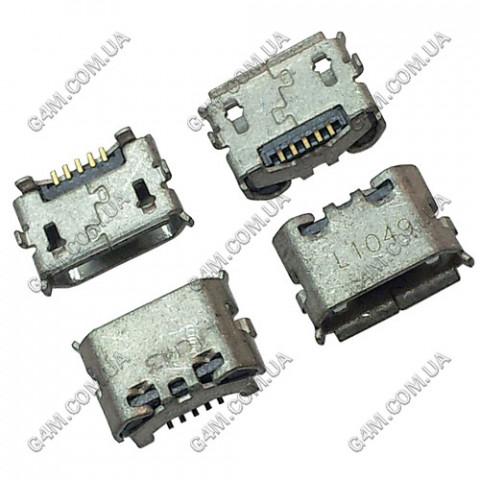 Коннектор зарядки Sony Ericsson U5i, X10; LG E730