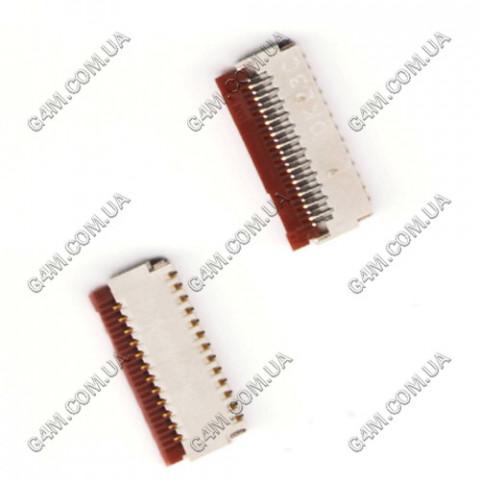 Коннектор дисплея Nokia 5228, 5230, 5233, 5235, 5800, C5-03, C6-00, N97 mini, X6-00