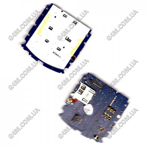 Плата клавиатуры Motorola L7 с компонентами