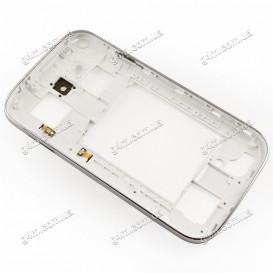 Средняя часть корпуса Samsung i9080, i9082 Galaxy Grand Duos белый
