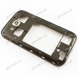 Средняя часть корпуса Samsung i9080, i9082 Galaxy Grand Duos черный