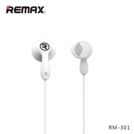 Гарнитура RM-301 Remax белая, Оригинал