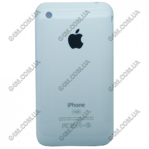 Задняя крышка Apple iPhone 3G 16Gb белая (High copy)