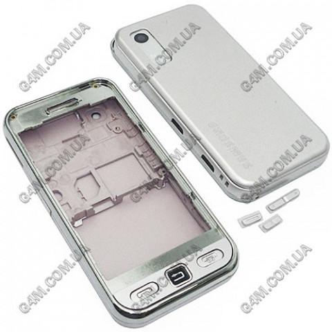 Корпус Samsung S5233 mobile TV розовый с клавиатурой (High Copy)