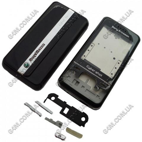 Корпус Sony Ericsson C903 черный (High Copy)