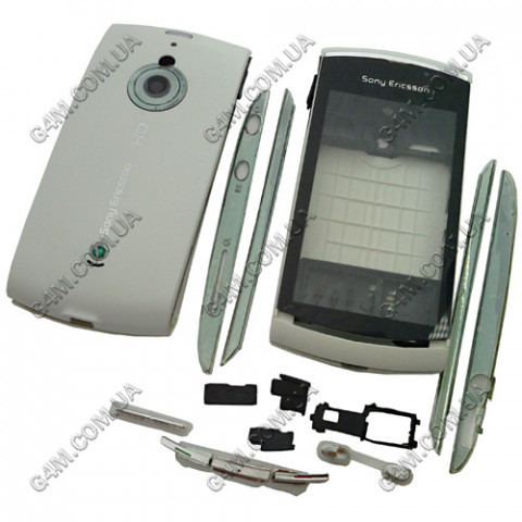 Корпус Sony Ericsson U8i Vivaz Pro белый (High Copy)