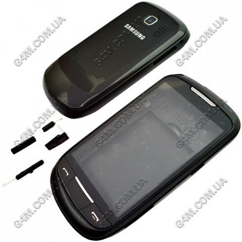 Корпус Samsung S3850 Corby 2 с клавиатурой черный (High Copy)