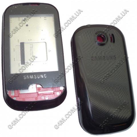 Корпус Samsung B5310 Corby Pro чёрный, High Copy