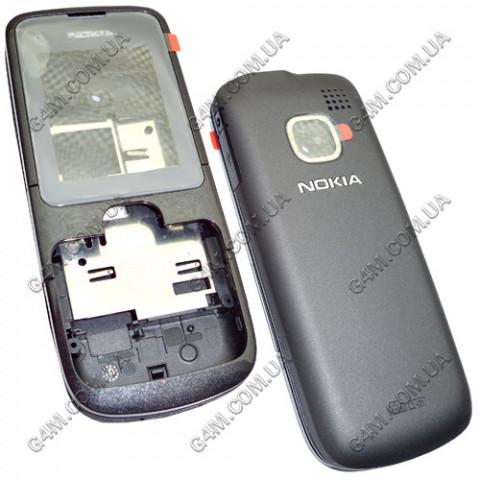 Корпус Nokia C1-01 темно-серый (High Copy)