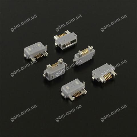 Коннектор зарядки Sony Ericsson ST18i, WT18, WT19; Sony LT25i Xperia V, LT26W Xperia acro S, LT29 Xperia TX, LT36 Xperia Z, ST25i Xperia U