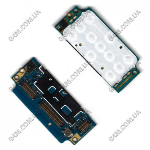 Плата клавиатуры Sony Ericsson W910 верхняя с компонентами (Оригинал)