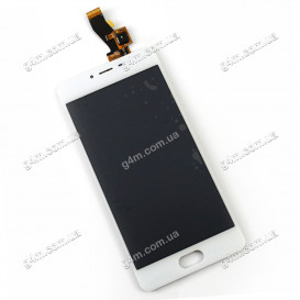 Дисплей Meizu M3S с тачскрином, белый