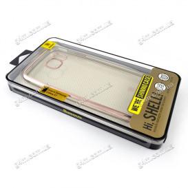 Накладка Baseus для Samsung G930 Galaxy S7 силиконовая, Pink