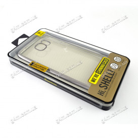 Накладка Baseus для Samsung G935F Galaxy S7 Edge силиконовая, Silver