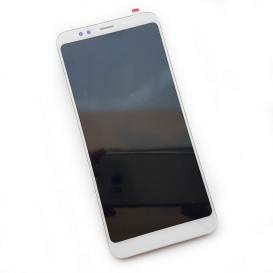 Дисплей Xiaomi Redmi 5 Plus с тачскрином и рамкой, белый