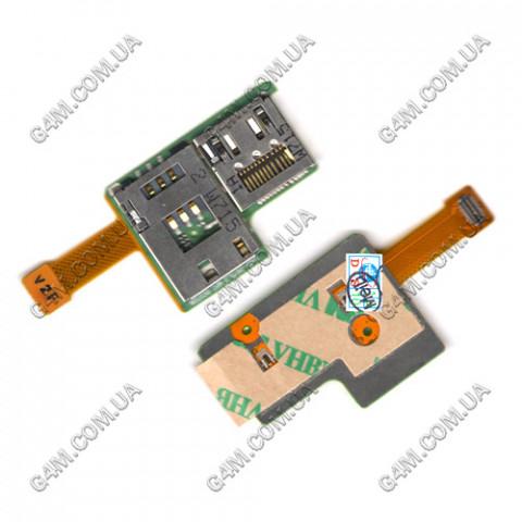 Модуль Сим карты и карты памяти Sony Ericsson K850i