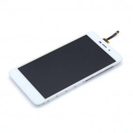 Дисплей Xiaomi Redmi 4a с тачскрином и рамкой, белый