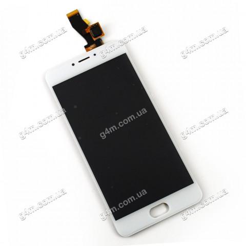 Дисплей Meizu M3 с тачскрином, белый