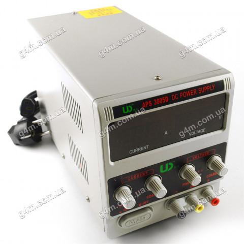 Источник питания UD 3005D (30 Вольт, 5 Ампер)