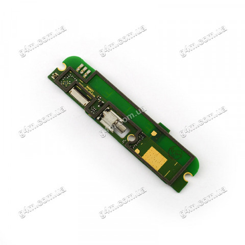 Плата (нижняя плата) Lenovo A805, A816, A768T с вибратором, микрофоном и компонентами