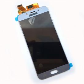 Дисплей Samsung J730H, J730F, J730FN, J730F/DS Galaxy J7 (2017 года) с тачскрином, серебристый, копия