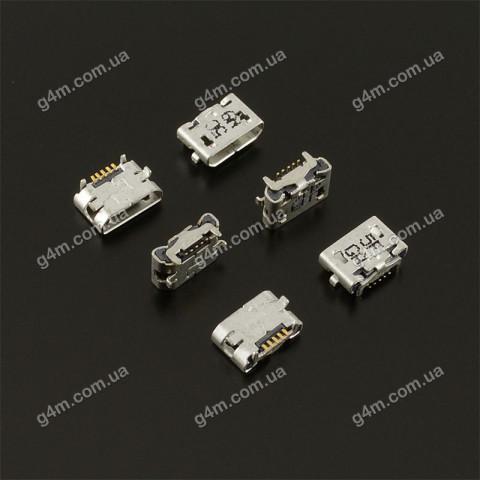 Коннектор зарядки HTC G8 A3333, A3336, A3366, A3335 Wildfire, G10 A9191 Desire HD, G15 C510e Salsa, G6 A6363 Legend, T8585 Touch HD2, T9292 HD7, EVO 4G; Lenovo A390, A2107