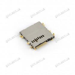 Коннектор карты памяти Samsung P3200 Galaxy Tab 3, P3210 Galaxy Tab 3, T2100 Galaxy Tab 3, T210 Galaxy Tab 3, T211 Galaxy Tab 3, T2105 Galaxy Tab 3, T2110 Galaxy Tab 3