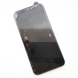 Дисплей Apple iPhone X  с тачскрином и рамкой, черный (Оригинал)
