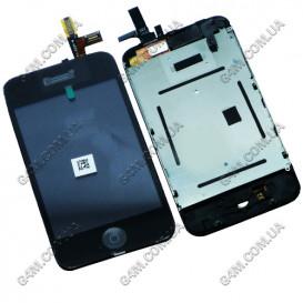 Дисплей Apple iPhone 3G с тачскрином черный (Оригинал)